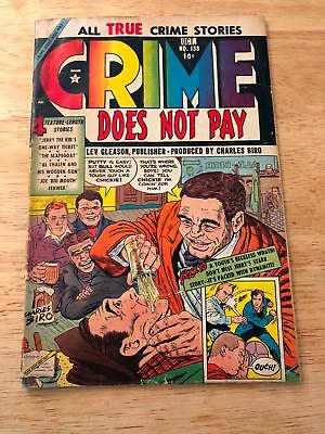 CRIME DOES NOT PAY #138 1954 Classic PreCode Crime