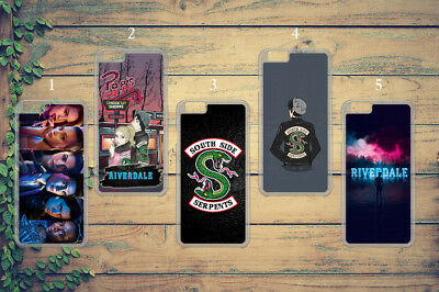 Riverdale Tv Show South Side Serpents Phone Case Cover For Iphone Samsung Huawei