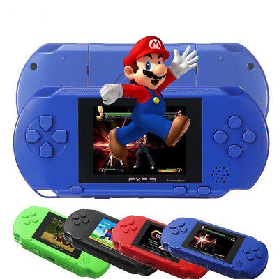 Portable PXP3 Handheld Video Game Console 16 Bit Built In 150+Game Kids Player