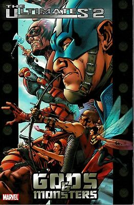 Ultimates 2 Tp Vol 01 Gods And Monsters Marvel Comics Softcover