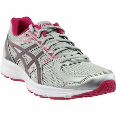 b7ccfb8a7789 Asics Womens Jolt Running Glacier Grey Carbon Bright Rose Shoes Size 7.5M