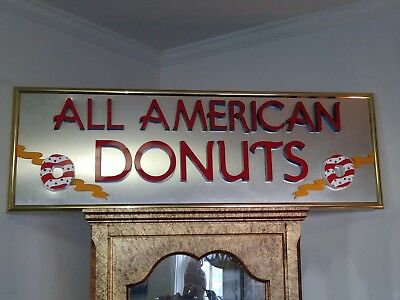 Advertising Sign ,All American Donuts