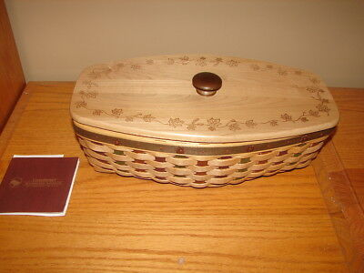 Longaberger 2007 5th in Series Heritage Days Basket Super Combo 5 Signatures