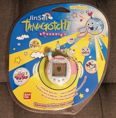 Bandai Tamagotchi Connection Connexion V4 white jacks NEW NEU
