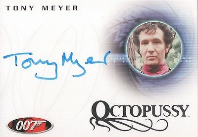 James Bond In Motion Tony Meyer 'Mischka' in Octopussy Autograph Card A86