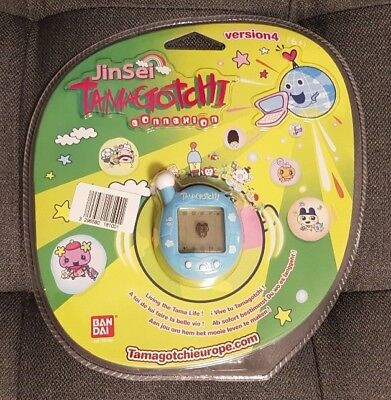 Bandai Tamagotchi Connection Connexion V4 sky NEW NEU