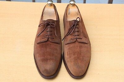 Chaussure John Lobb  Daim Marron 8 E 42 Excellent Etat Men's Shoes