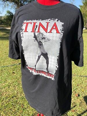 Vintage 2008 Tina Turner Live in Concert Tour Graphic T-Shirt Size L/XL