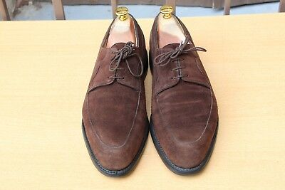 Chaussure  Derby John Lobb  Daim 9 E 43 Excellent Etat Men's Shoes