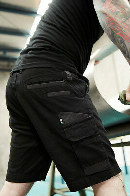 * NEW * FXD 2 x STRETCH COTTON WORK SHORTS ALL SIZES ALL COLOURS WS-3