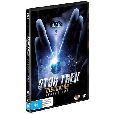 BRAND NEW Star Trek Discovery : Season 1 (DVD, 2018, 5-Disc Set) *PREORDER R4