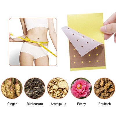 10pcs New Magnetic Health Fast Trim Pads Fat Burning Slim Patches Weight Loss