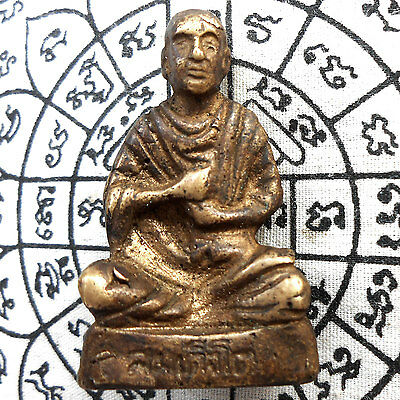 Genuine Holy Buddha LP. Phra Somdej To Thai Amulet Powerful Holy Talisman Wealth