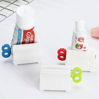 Convenient Toothpaste Rolling Tube Toothpaste Squeezer Stand Holder Bathroom