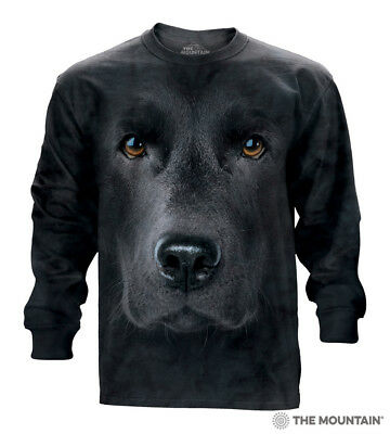 "The Mountain Damen T-Shirt /""Black Lab Face/"""