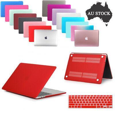Hard Case Matte Shell+Soft Keyboard Cover For MacBook Air Pro Retina 11/12/13/15