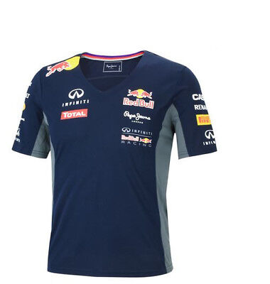 NEU Pepe Jeans Red Bull Racing Teamline F1 Damen Funktions T-Shirt Größe S