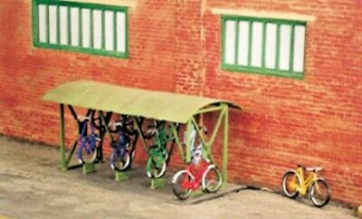 SS23 Wills Kit OO suit HO Gauge Bicycle shed & Bicycles x 8
