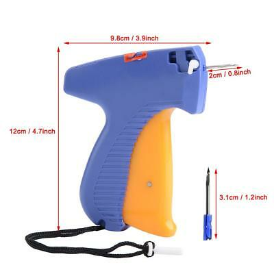 Professional Plastic Clothing Garment Price Label Tagger Tagging Gun Supply New