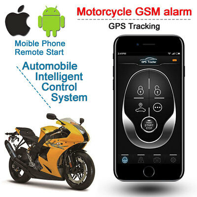 Motorcycle Motorbike Anti-theft Security Alarm System GPS+GSM Tracker DC 9V-15V