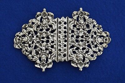Victorian Solid Silver Nurses Belt Buckle - Chester 1897  - Nurse buckle - Gifts