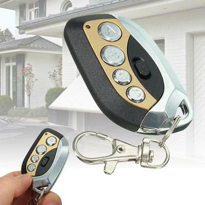 Garage Door Wireless Remote Control 4 Channel Transmitter Rolling Code le *Z t