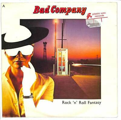 "Bad Company - Rock 'N' Roll Fantasy - 7"" Record Single"