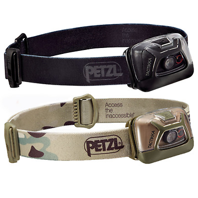 Petzl Tactikka Headtorch NEW 200 Lumens Model,Hunting,Fishing,Tactical / Battery
