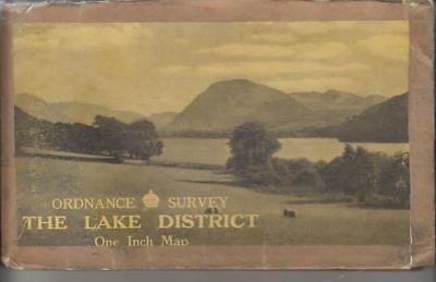 Ordnance Survey :The Lake District One Inch Map :
