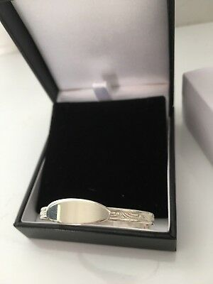 Personalised Sterling Silver Baby Christening Bangle Bracelet 6 GM & Deluxe Box