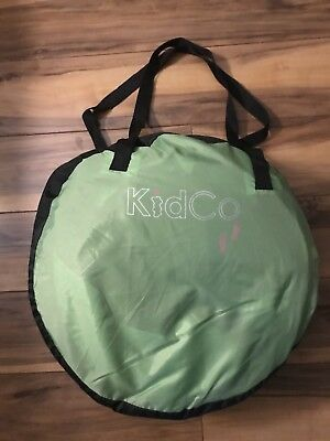 KidCo Baby Pea Pod  Infant/Child Screened in Travel Bed/Tent in Kiwi