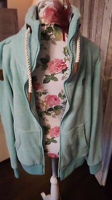 NAKETANO SWEATSHIRT JACKE Mint 《XL》