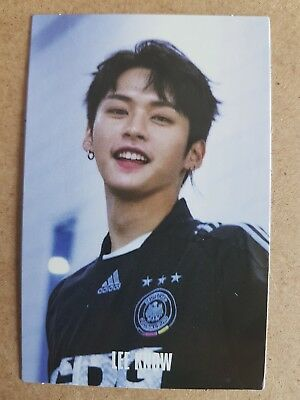 STRAY KIDS LEE KNOW BEHIND Authentic Official PHOTOCARD 2nd Album I AM WHO