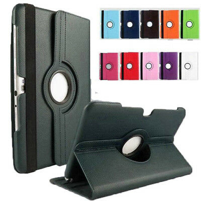 360 Degree Rotate Stand Case Cover Samsung Galaxy Tab 2 10.1 P5100 (2012) Tablet