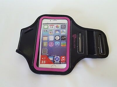 Stalion Sports Running Exercise Gym Armband Case Cover Apple iPhone 6/6s Pink