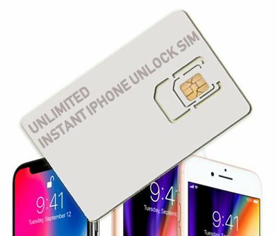 Unlimited Instant iPhone Unlock SIM for ALL iPhones