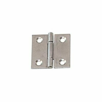 Angular Hinge Stainless Steel Satin Finish 80 x 80 x 1.5mm LINDEMANN