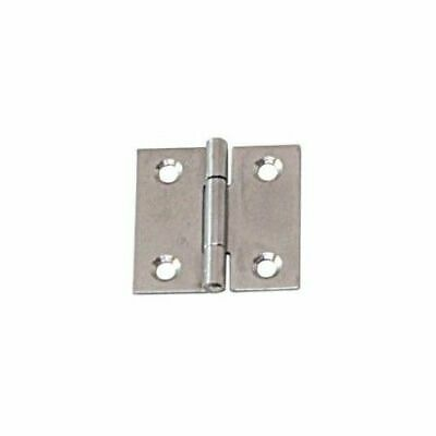 Angular Hinge Stainless Steel Satin Finish 100x 100x 1.5mm LINDEMANN