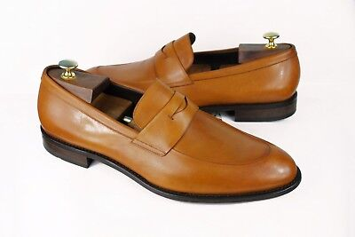 HUGO BOSS Loafer Made in Italy shoes mens UK11 US12 45 authentic Penny  50326999 a5d39876c9375