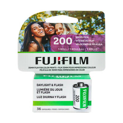 Fujifilm Fujicolor C200 CA ISO 200 36 exp. 35mm Color Film, FRESH DATE