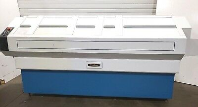 """TREIBER 16"""" x 11ft SS CONVEYORIZED THRU-FEED HEATED INDUSTRIAL PARTS WASHER 208V"""
