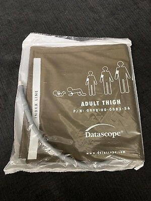 Datascope 0998-00-0003-56 Adult Thigh Cuff *Lot Of 2*