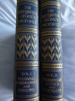 Sir Benjamin  Stone Pictures 1906 2 Volumes Ceremonies Parliament and Portraits