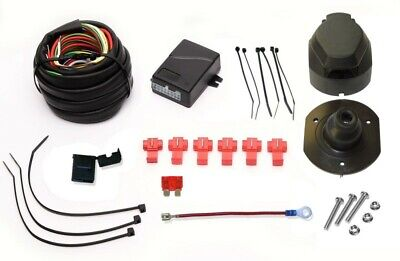 13pin Towbar Electrics + Bypass Relay for Land Rover Freelander 2 II 2006 On