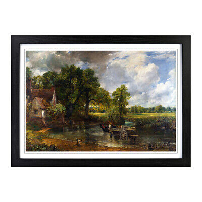 Framed Picture Print A2 John Constable The Hay Wain Painting Wall Art Horizontal
