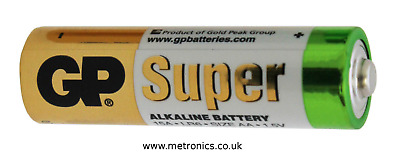 AA Alkaline Battery Twin Pack (2 BATTERIES) Also known as LR6 Pencil Batteries