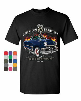 American Tradition Ford Motor Company T-Shirt Classic Since 1903 Mens Tee Shirt