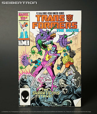 TRANSFORMERS THE MOVIE #2 1986 Marvel Comic G1 181017b