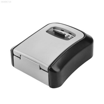 04C1 Home Security 4-Digit Password Money Key Safe Box with Combination Lock