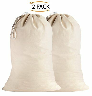 100% Cotton Extra-Large Heavy Duty Laundry Bags - Sweet Needle